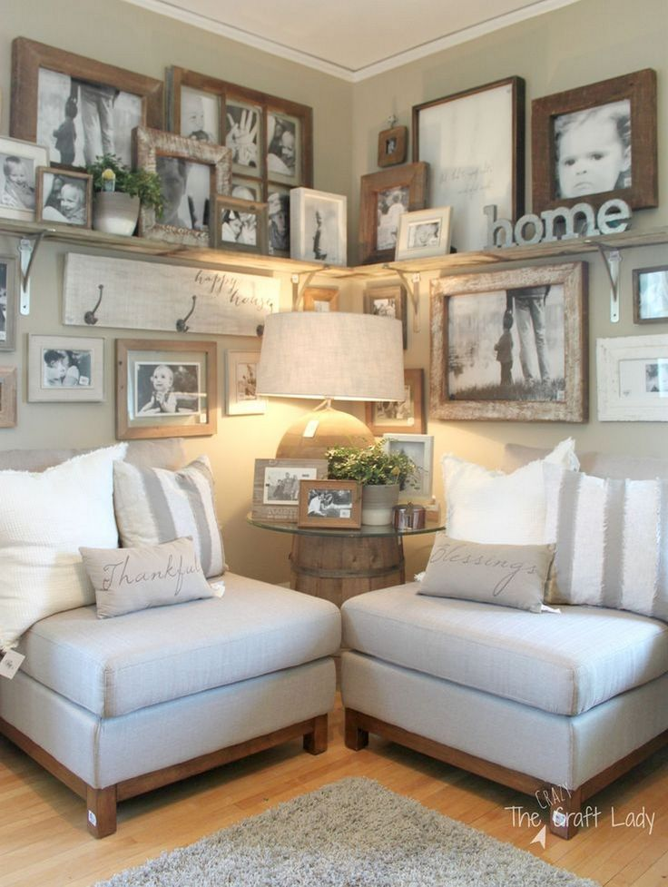 99 DIY Farmhouse Living Room Wall Decor And Design Ideas 11