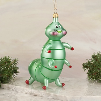 De Carlini Italian Glass Ornaments