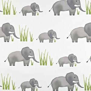 Jumbo Elephant 100% Cotton 137cm wide | 64cm Curtaining