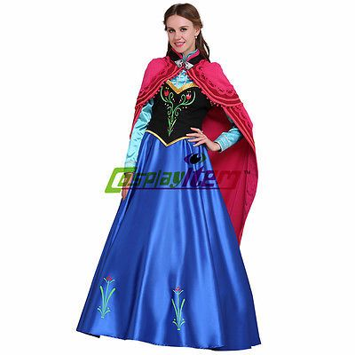 Anna Frozen Costume Adult