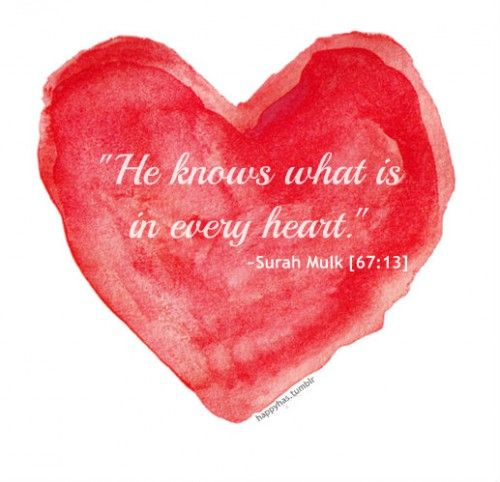 He Knows (Quran 67:13)