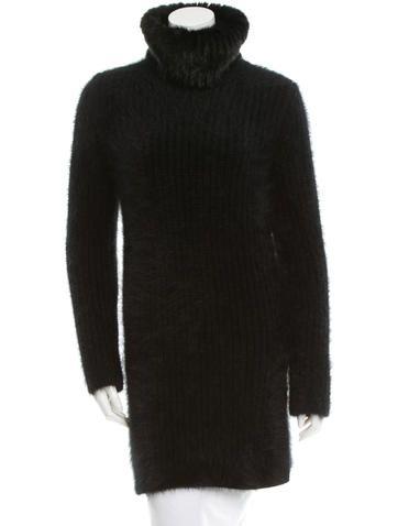 Fendi Angora Turtleneck Sweater