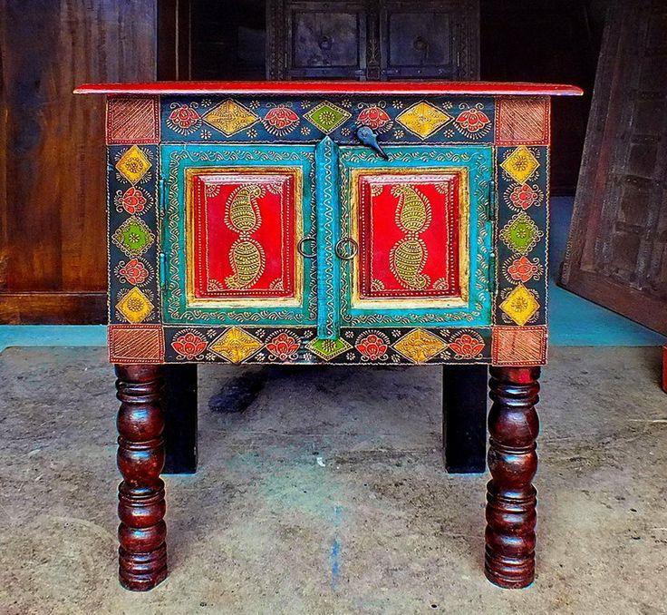 1000 id es sur le th me meuble indien sur pinterest - Meubles indiens peints ...