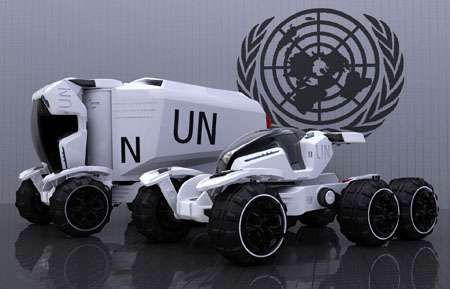 Aid Necessities Transporter Photos 1 - Futuristic Rescue Vehicles pictures, photos, images