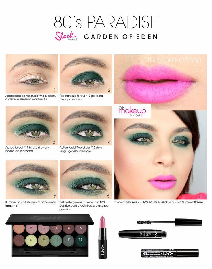 Paleta Farduri Sleek Garden Of Eden - Makeup Shop