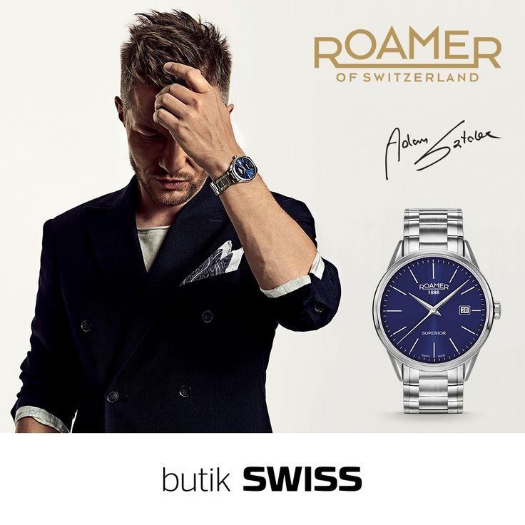 ROAMER to doskonale skomponowane dzieło szwajcarskich mistrzów. Tajemnica sukcesu marki leży w bezkompromisowej dbałości o każdy szczegół. Wszystkie zegarki są ręcznie składane i poddawane zaawansowanym testom jakości. Innymi słowy, ROAMER to elegancki sposób, aby pokazać swój podziw dla wartości czasu. Swiss Made. Spotkajmy się w butiku SWISS.