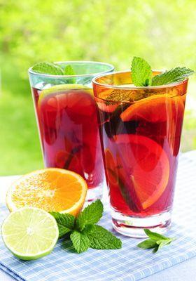 Cocktail Sangria sans alcool