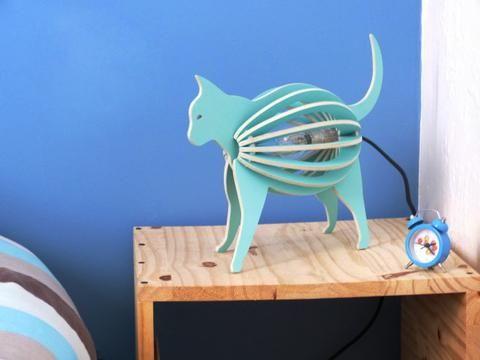 Lampe chat à poser – Zooo - Hariet et Rosie Gone's Design