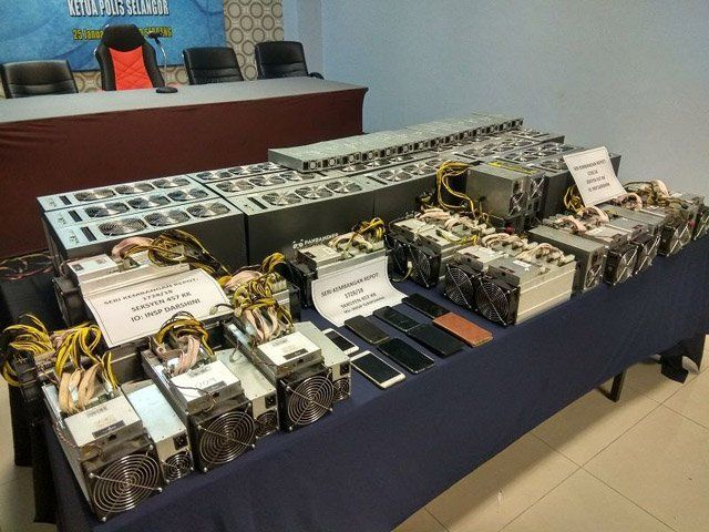 bitcoin mining equipment