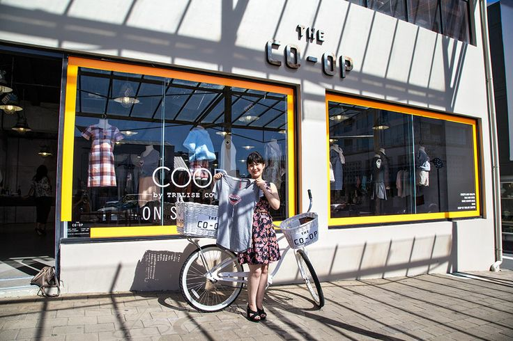 Together with Trelise Cooper's brand new concept store The Co-Op we ran a competition to find a Hidden design talent. Congratulations to Lisa Park from Christchurch. Check out her design!