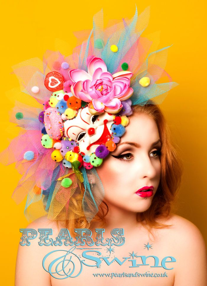 Pop Surreal Millinery: I Make Unique Hats For Show Stopping People