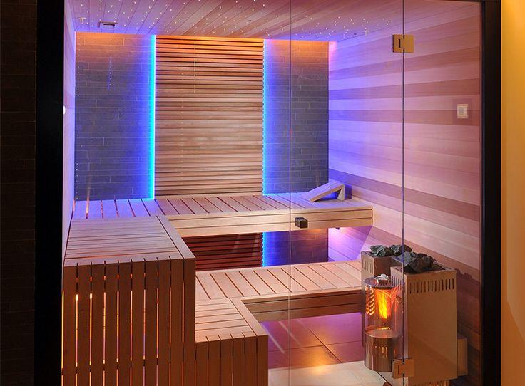 KUNG AG Sauna bouw, Wädenswil, Zwitserland: glas Voor