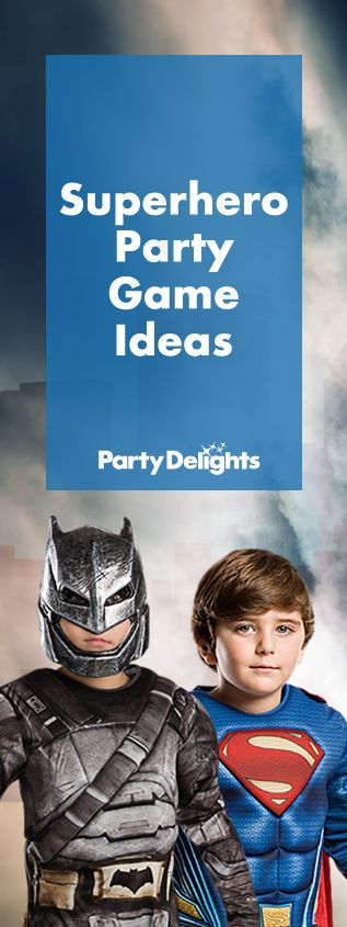 Planning a superhero party? Read our superhero party games for loads of fun superhero games and activities to keep your guests entertained. Perfect for a kids' birthday party,