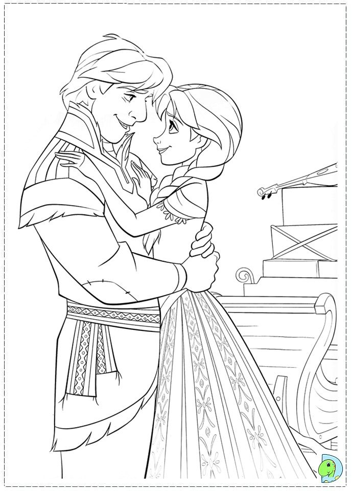 And Pages Activity's Disney Frozen-Coloring | Coloring page