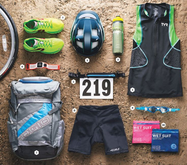 Triathlon Gear: The Best Swim-Bike-Run Essentials - SELF
