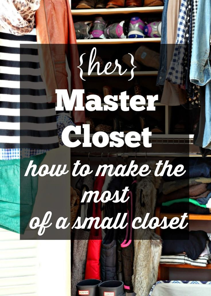 How to make the most of a small closet and simple boutique touches.
