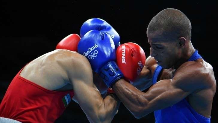 Robson Conceição durante luta nos Jogos Olímpicos do Rio de Janeiro