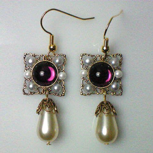 Catherine Howard Amethyst Earrings