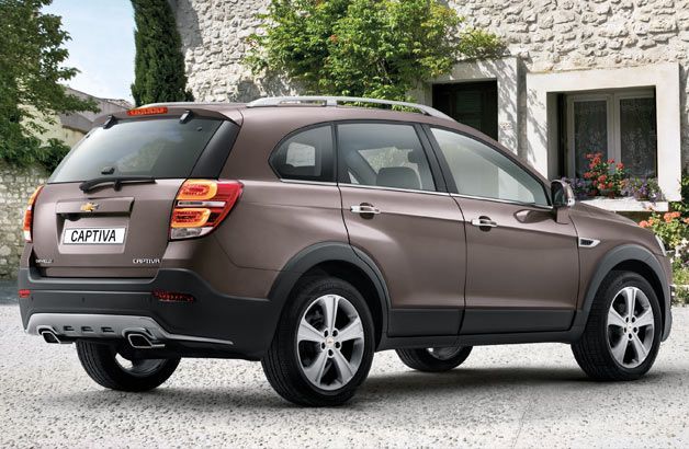 Chevrolet Captiva review