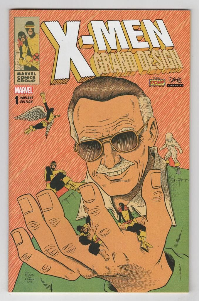 X Men Grand Design 1 Ed Piskor Stan Lee Variant Cover 2018 All Marvel Heroes Stan Lee Comics