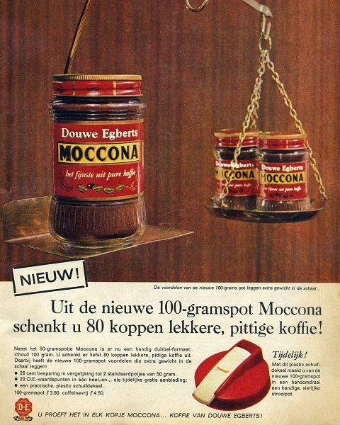 www.zuivelmuseum.nl - - - -     Oude reclame Moccona Koffie