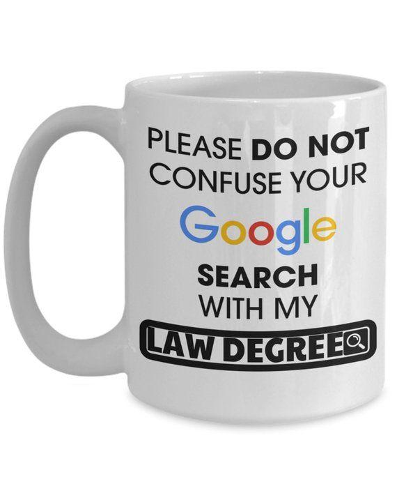 902ae8c73cb Lawyer Coffee Mug Funny Attorney Tea Cup Lawyer Attorney Gifts For Man  Women Travel Mug Tumbler