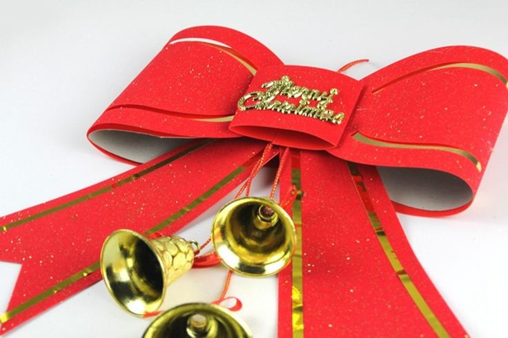 Oversized Christmas bow ornament for $5.76