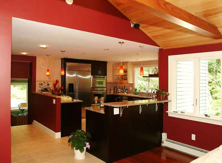 Kitchen colors modern kitchen color scheme and ideas for Modern kitchen wall color ideas