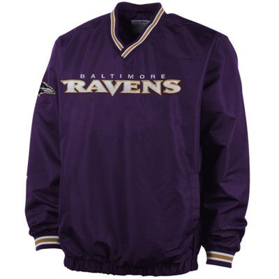 Baltimore Ravens Match-Up Pullover Jacket - Purple 2091d2a0ed86a