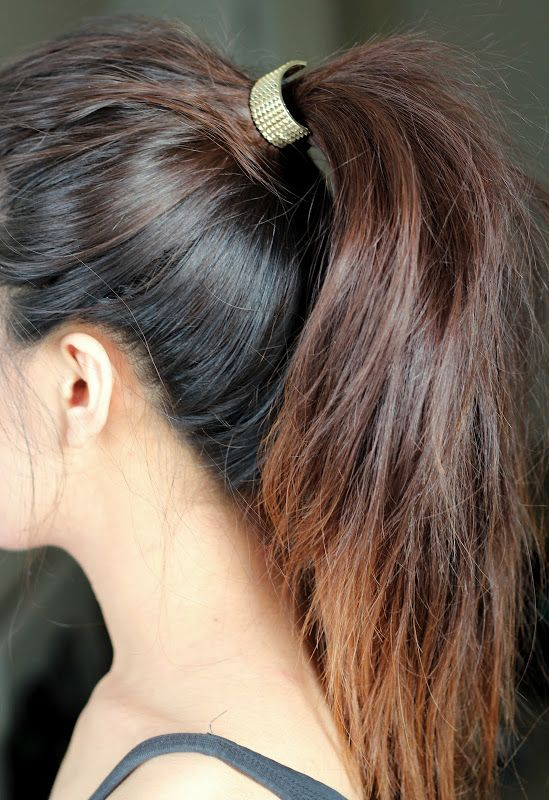 Upgrade Your Basic Ponytail with a Chic Cuff Klaudia Tirico There's no better way to keep your neck cool on a hot summer day than by throwing your hair up in a ponytail. On the other hand, it can also be the most boring way to wear your hair.