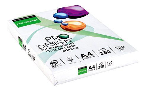 Ramette papier Pro Design A4 120 gr - 250 feuilles - blanc