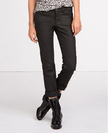 Jeans droit résiné | Jeans et pantalons | Comptoir des Cotonniers