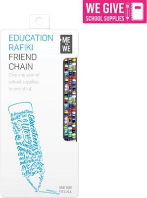 Me to We Rafiki Friend Chain - ABC Education