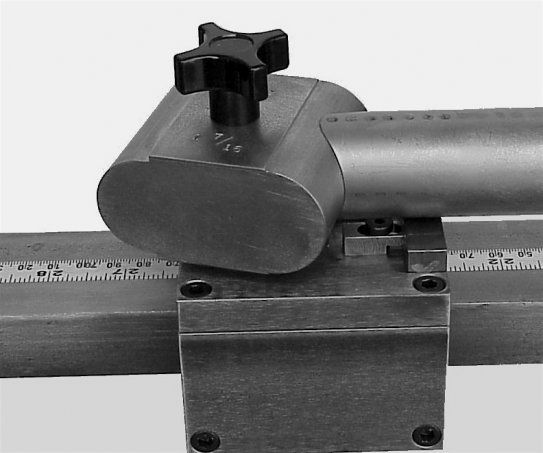 Modeling Sputnik Tool's main tube mitering fixture in BikeCAD Pro.