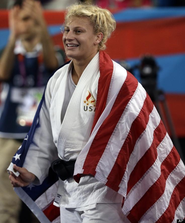 Kayla Harrison. First US judo Olympic gold!