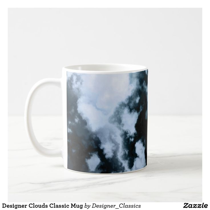 Designer Clouds Classic Mug
