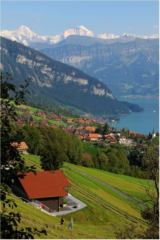 Idyllische Landschaft, Berner Oberland