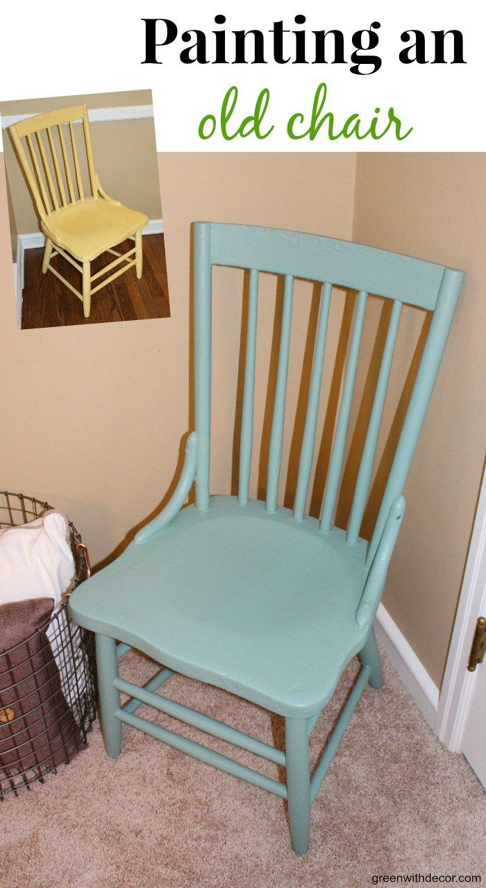 Paradise Found: Painting An Old Chair