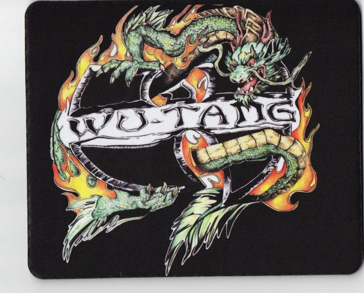SHAOLIN DRAGON WU-TANG CLAN HIP HOP RAP MUSIC MOUSE PAD HOT GIFTS RARE BRAND NEW