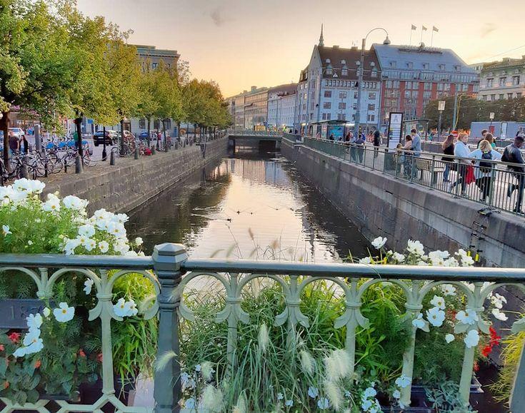 #summer #sommer A sunset from Gothenburg …………