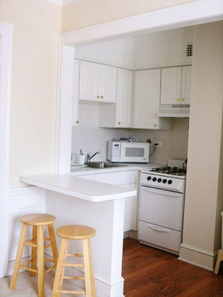Pin By Home Decor On Kitchen Decor Small Kitchen Design Apartment Small Apartment Kitchen Studio Apartment Kitchen