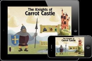 The Prisoner of Carrot Castle – iPad app for kids by Chris Pederson. To learn more about this amazing story visit http://purplecarrotbooks.com