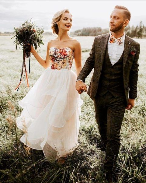 c86e58f63 20 Non-Traditional Bridal Outfits That Wow | Wedding Stuffs ...