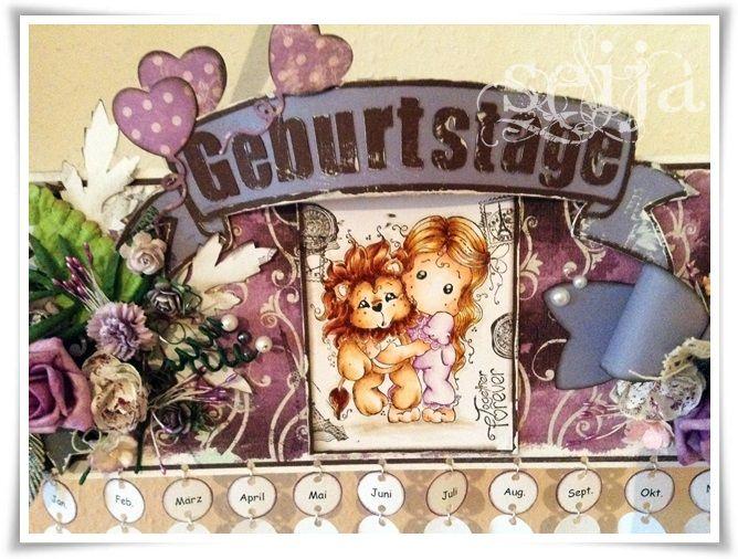 Place - t(w)o - Craft: Geburtstagskalender