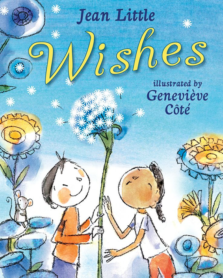 Make a wish and the sky's the limit in this delightful rhyming story from the incomparable Jean Little.