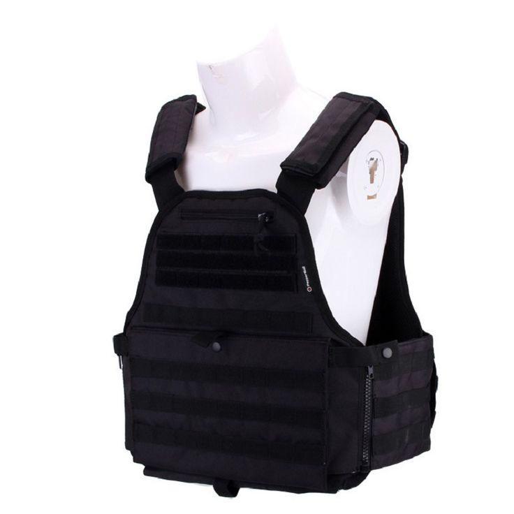 2017 Colete tatico loja artigos Militares airsoft tactical vest Leapers Law Enforcement molle Tactical Vest SWAT Schutzweste #Affiliate