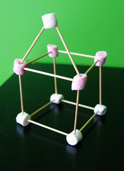 Marshmallow Challenge - This one is perfect for involving the whole family.  Set a challenge to see who can build the tallest structure from mini marshmallows and toothpicks!