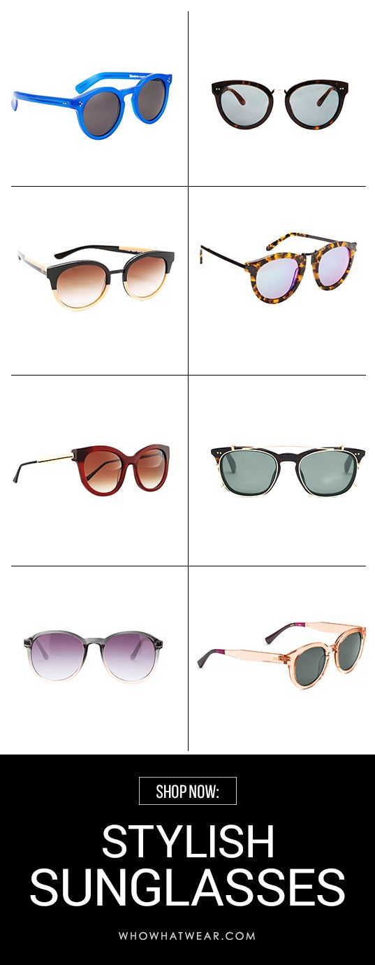 Remember: it still gets sunny in the fall. These are the best stylish sunglasses you'll want to have in your arsenal.