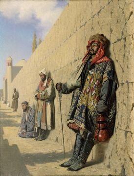 Верещагин Василий Васильевич. Нищие в Самарканде. 1870 Холст, масло 51,8 x 38,1