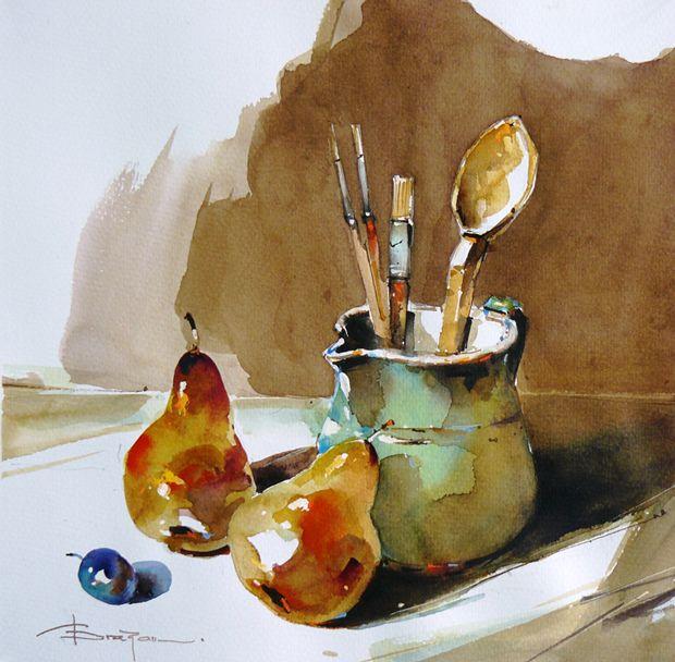 Watercolour-Acuarela-Corneliu-Dragan-Targoviste-natura-moarta-compozitie-26